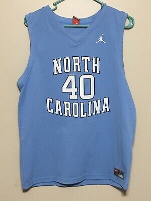 cheap for discount 3fab8 d42d5 YOUTH XL NIKE Team UNC Tar Heels Basketball Jersey 40 Harrison Barnes Blue