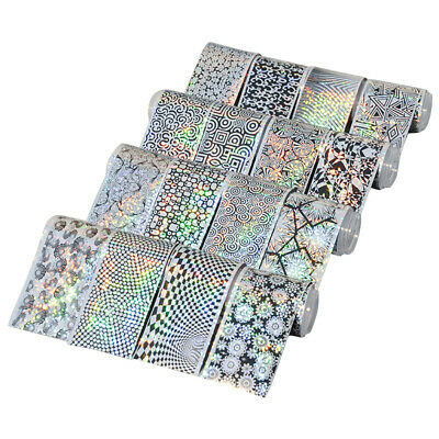 16Pcs/Set Fashion Starry Sky Nail Art Transfer Sticker DIY Manicure Tool Candy