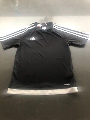 Adidas Boys Climalite Football Training Top T Shirt Age 11/12 Years