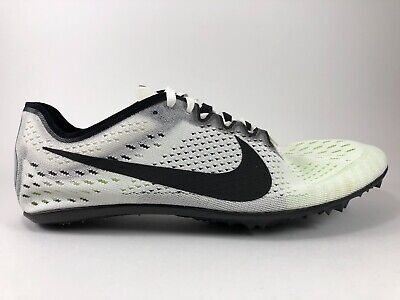 New Nike Zoom Victory 3 Track Field Spikes White Black Oreo 835997 107 Size  12.5 3b67bd679