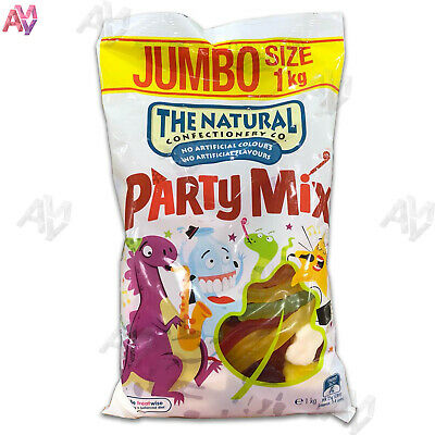 The Natural Confectionary Company Party Mix 1kg Jumbo Pack