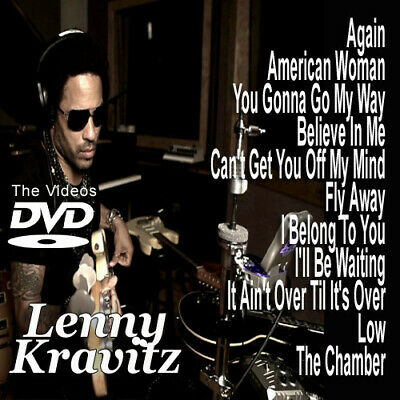 Lenny Kravitz MUSIC VIDEOS HIP HOP R&B RAP DVD