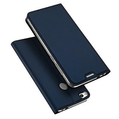 Cover Huawei P8 Lite 2017 Mobile Phone Protective Case Flip Case + Glass Foil