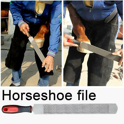 Horse Hoof Rasp Bladed Horse Farrier Horseshoe Trimming File Tools 14 Inches
