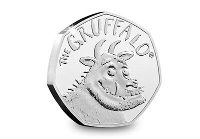 The Gruffalo 50p Uncirculated BU From A Set UK In Stock Now