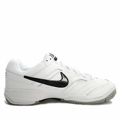 NIKE COURT LITE White Black Tennis Men Shoes Dad Sneakers Trainers ... 7f1d3a5141f