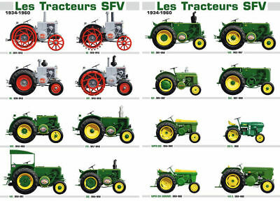 A3 John Deere Vintage Collection Tractor Agriculture Poster Brochure Picture