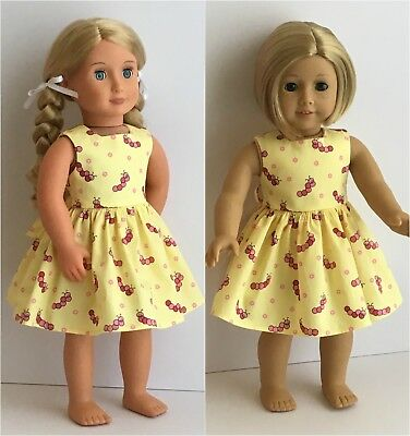Fits American Girl, Our Generation, Gotz,18 inch 46cm  Doll Clothes - Dress