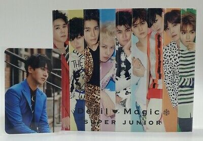 CD+DVD+Photo Card SUPER JUNIOR Japan Devil Magic First LTD YESUNG Photocard
