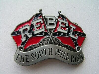 Rebel Rockabilly USA South Belt Buckle Western Line dance