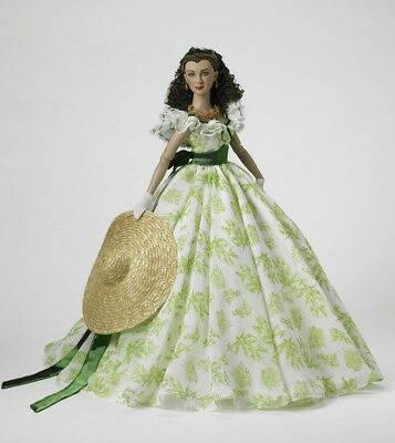"Gone With The Wind ""what My Lamb Gonna Wear?"" Tonner Doll New Scarlett O'hara"