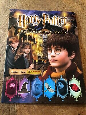Harry Potter and the Philosophers stone Panini sticker album album 100% complete