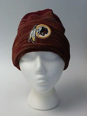 New Era NFL 2017 On Field Sport Knit Kickoff Hat Cap Washington Redskins  Beanie b21d135c21c3