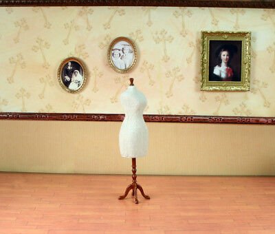 """Sewing Dressing Dummy MUSEUM QUALITY DOLLHOUSE FURNITURE 1:12 or 1"""" Scale BESPAQ"""
