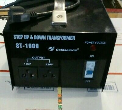 Goldsource ST-1000 Step Up & Down Transformer- Works Great!