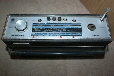 Roberts Portable Radio R600 - Not Working &  bits missing Fair Condition