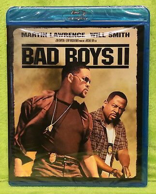 Bad Boys 2 (Blu Ray Disc, 2015) Martin Lawrence, Will Smith - BRAND NEW