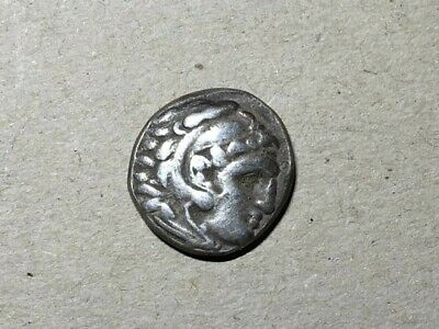 Alexander III of Macedon silver coin