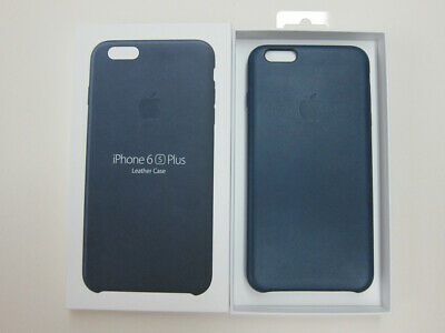 buy online 3ae13 17bd8 APPLE IPHONE 6 6s Plus Leather Case Cover Midnight Blue Great 8/10 Genuine