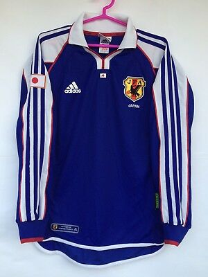 Japan 2001 Rare Adidas Home Authentic Player Issue Football Soccer Jersey  Shirt 2b9d42e6a