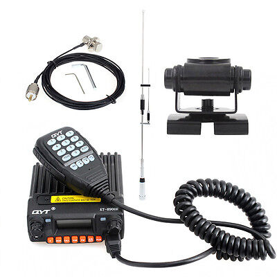 3in1 SP7200 Tri-band 100W Car Mobile Radio Antenna+400VB Mount+Extension Cable
