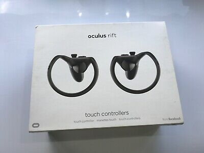 Oculus Touch Motion Controllers & Sensor for Oculus VR RIFT Headset