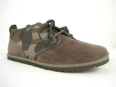 ef822f8f068 UGG 1018461 MAKSIM Camo Chukka Brindle Men's Brown Lace Up Boots ...