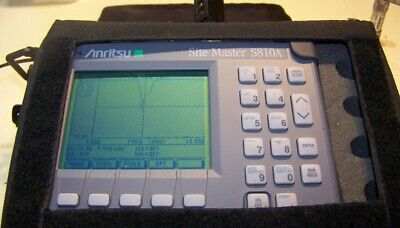 Anritsu S810A Site Master 3.3-10.5GHz with opt.5 W/new screen,Battery & charger!