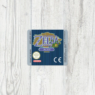 Étiquette Game Boy Color / Sticker : Zelda - Oracle of Ages