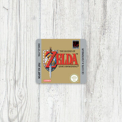 Étiquette Game Boy / Sticker : Zelda - Link's Awakening