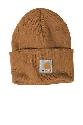 Carhartt Acrylic Watch Beanie Knit Unisex Stocking Cap Warm Winter Hat  Authentic 7aee8876c5f8