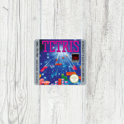 Étiquette Game Boy / Sticker : Tetris