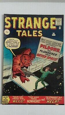 Strange Tales #94 comic-March 1962-9d cover