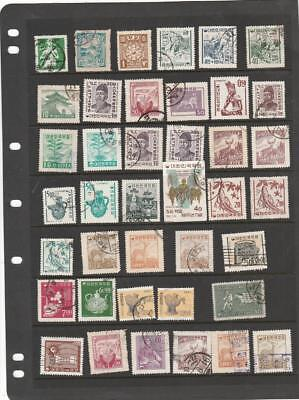 Korea - South Korea Collection Accumulation  2 Stock pages Used / Unused / NH