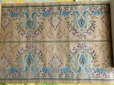 RARE ANTIQUE WALLPAPER, Arts Crafts, Art Nouveau, Victorian, S.A. Maxwell Co.