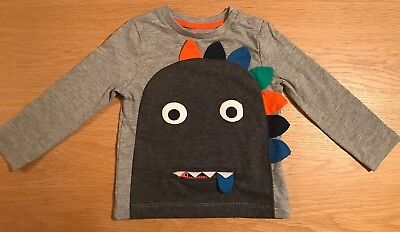 BOY'S MONSTER T-SHIRT AGE 12-18 Mts - NEW!
