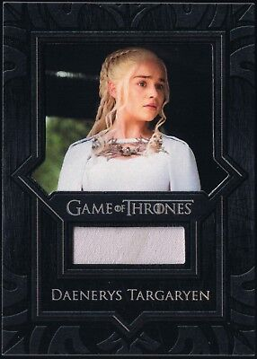 Game of Thrones Valyrian Steel Daenerys Targaryen Emilia Clarke Dress Relic #VR4