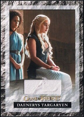 2017 Game of Thrones Season 6 Daenerys Targaryen Emilia Clarke Skirt Relic #S6R1