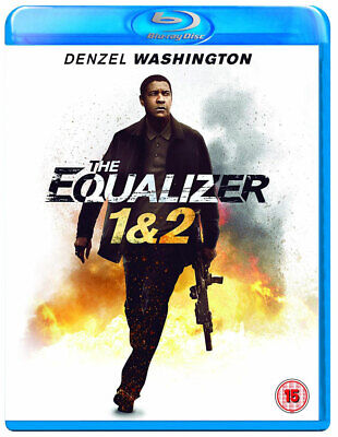 THE EQUALIZER 1 & 2 [Blu-ray] (2014-2018) 2-Movie Combo Pack Denzel Washington
