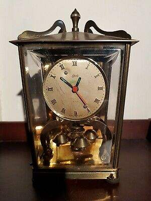 Vtg German Model 53 400 Day Clock Aug Schatz & Sohne Converted Spares / Repair