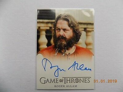 Rittenhouse Game of Thrones Season 7 - Autograph card - Roger Allam