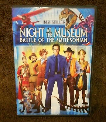 Night at the Museum: Battle of the Smithsonian  DVD, 2009