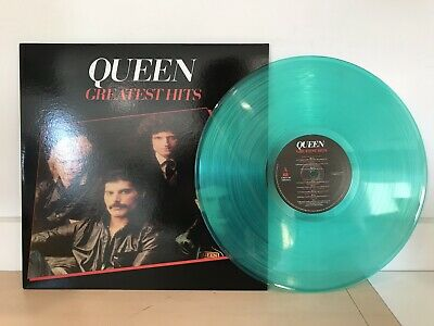 Queen - Greatest Hits - Brand New Green Colored Vinyl Lp Record