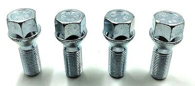 4 X Alloy Wheel Bolts For Saab M12 X 1.5 17Mm Hex,nuts,lugs,studs, [36]