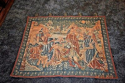 Goblys French Vintage Tapestry 37Ins Wide 45 Ins Deep
