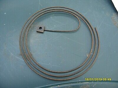 """5 1/2""""  Coiled Gong  Clock Parts"""