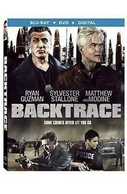 Backtrace  Only Blu-Ray + Dvd ...no Digital Movie With Sleep Cover