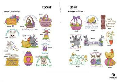 Brother/Babylock Embroidery Machine Memory Card EASTER COLLECTION II