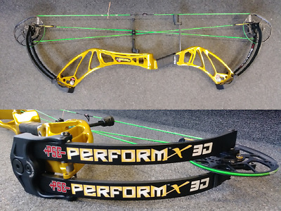 """PSE Perform-X 3D 50# to 60# Right Hand 26.5""""-32"""" Archery Compound Target Bow"""