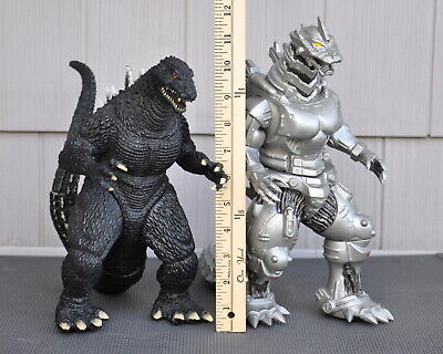 "Godzilla Bandai Toho 2007 Kiryu Mecha & Monster Godzilla 12"" Action Figure Lot-2"